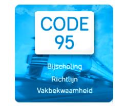 code 95 Chauffeurstraining DTCO
